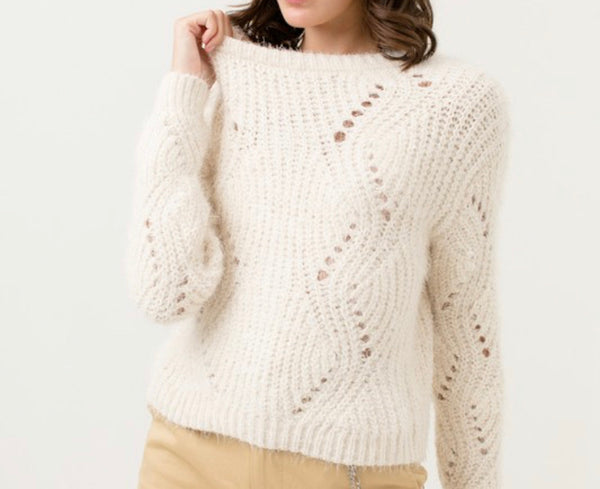 Ivory Soft Sweater