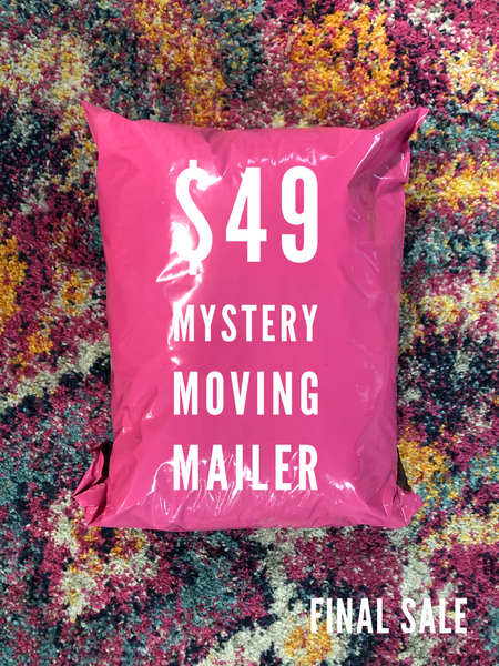 #1600 Mystery Moving Mailer - FINAL SALE