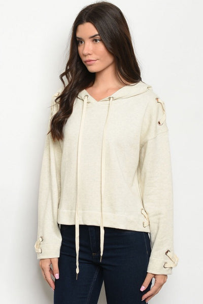 Ivory Lace Hoodies