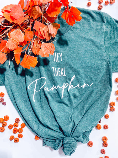 #2346 Hey There Pumpkin Graphic Tee