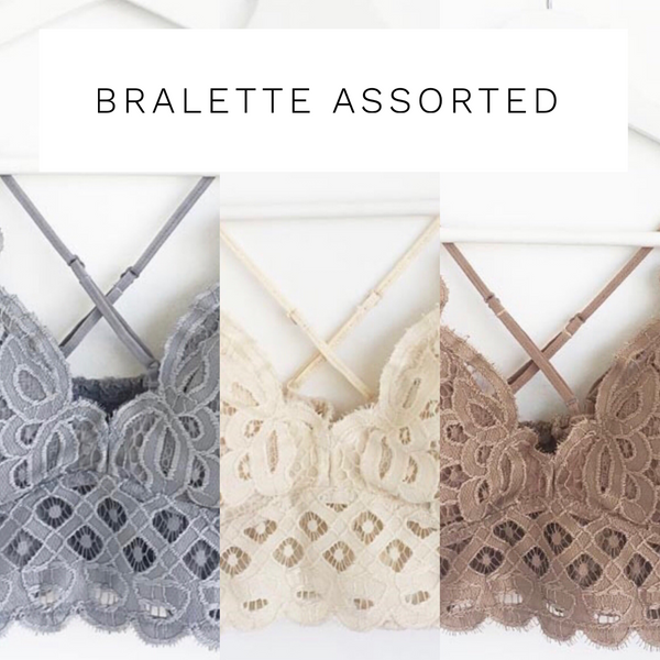 Bralette Assorted