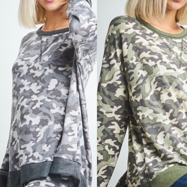 Camo Gray or Green