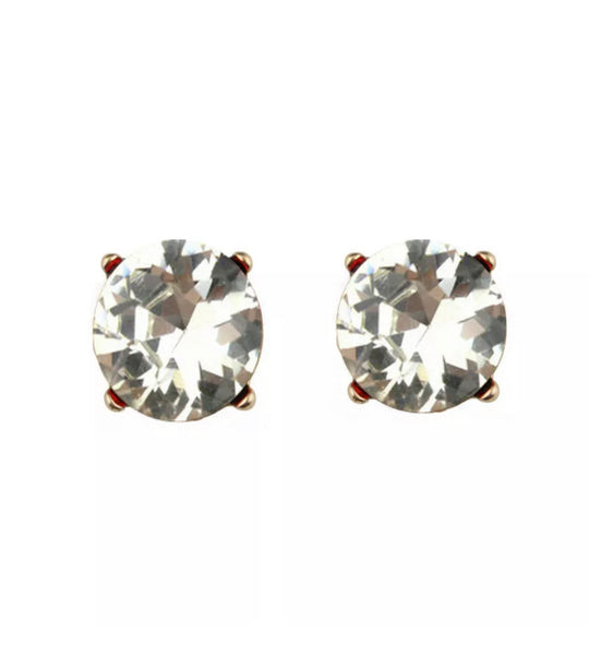 #766 Crystal Glam Stud Earrings