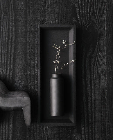 Bottle Vase Black_Zakkia_Backstreet Shopper