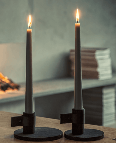 Bright Light Candle Holder – Dark, Small