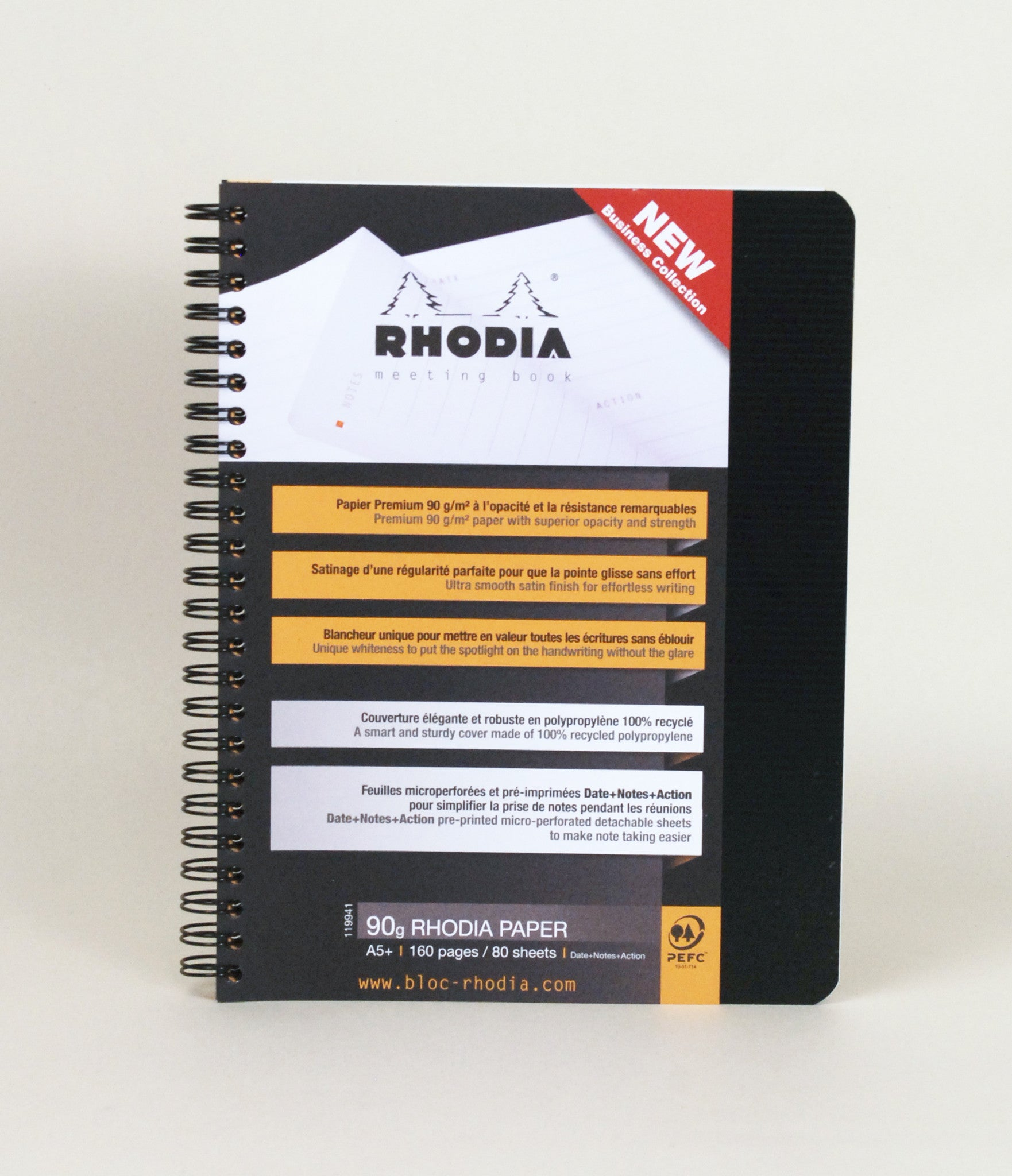 Rhodia Meeting Book A5 | BackstreetShopper.com.au