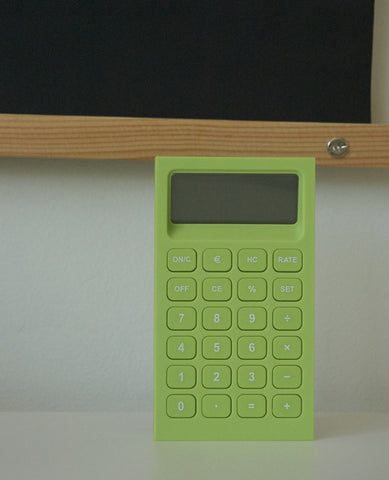 BURO CALCULATOR GREEN