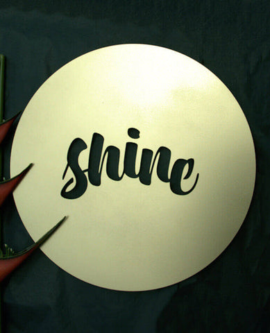 Shine, Gold - Outdoor Art
