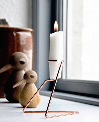 Candle Holder Lysestage No. 1 - Copper | Nicholas Oldroyd Design | BackstreetShopper.com.au