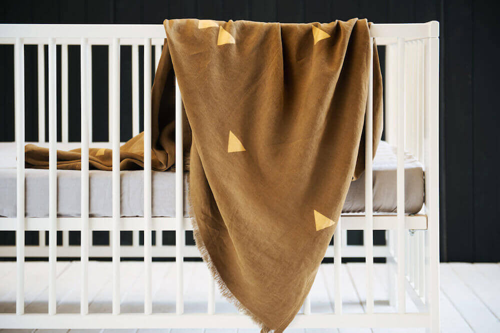METALLIC LINEN THROW | MAJOR MINOR | BackstreetShopper.com.au