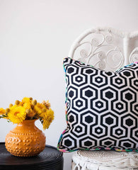 MONOCHROME MAJIC CUSHION | MILLY + EUGENE | BackstreetShopper.com.au