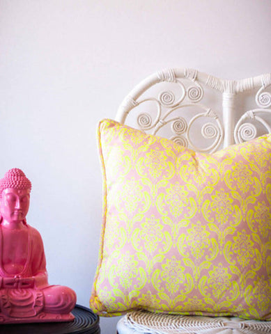 NEON BAROQUE CUSHION | MILLY + EUGENE | BackstreetShopper.com.au