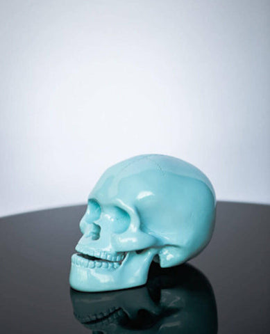 SKY BLUE SKULL | Milly + Eugene | BackstreetShopper.com.au