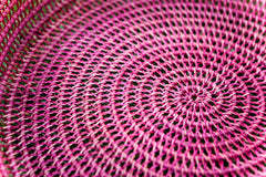 PINK WIDE WEAVE BASKET | Milly + Eugene | BackstreetShopper.com.au