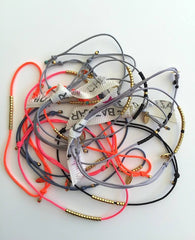 Thread and Bead Bracelet | Sab + Sab Jewellery | BackstreetShopper.com.au