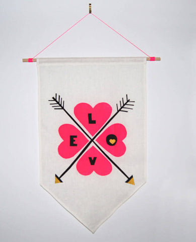 'Love' Wall Flag