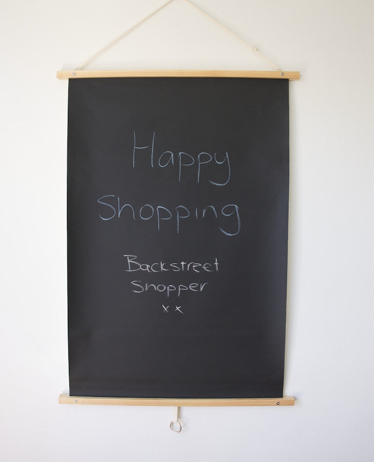 Canvas Blackboard | Telegram Paper Goods | BackstreetShopper.com.au