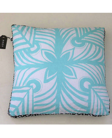 Mahana Light Blue Cushion Cover | Ahoy Trader | BackstreetShopper.com.au