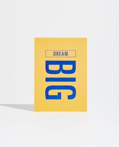 GOAL CARD: DREAM BIG