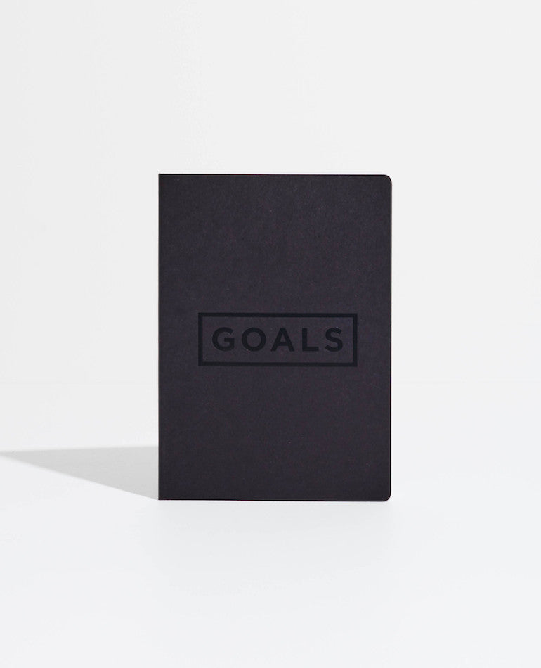 Mi Goals | GOALS BOOK BLACK | BackstreetShopper.com.au