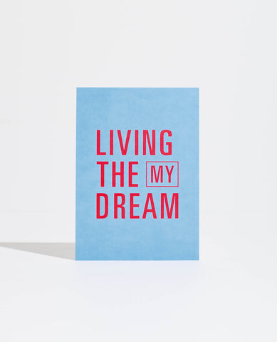 Mi Goals | GOAL CARD: LIVING THE DREAM | BackstreetShopper