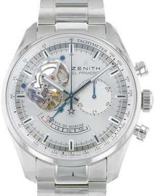 Zenith Chronoma Star Open Power Reserve Silver 03.2080.4021
