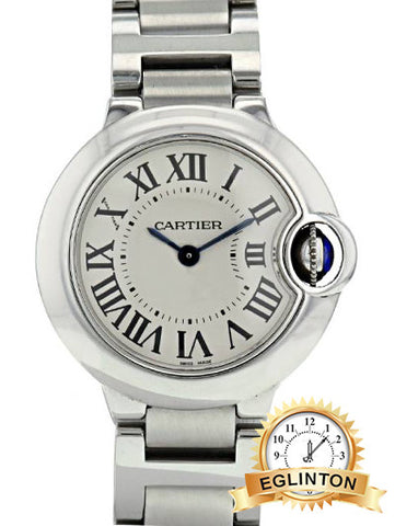 Cartier Ballon Bleu quartz womens Watch 29MM