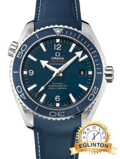 Omega Seamaster Planet Ocean Titanium Mens watch 232.92.46.21.03.001 W/BOX & Papers