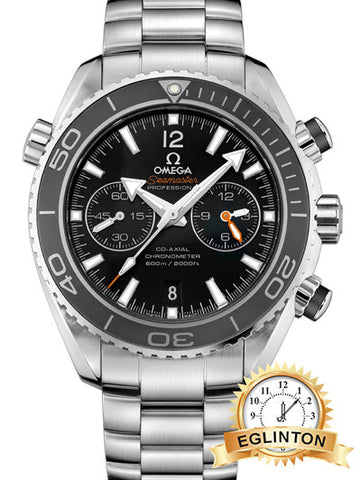 Omega Seamaster Planet Ocean 600M Co-Axial Chronograph 2015 W/ Box & Papers