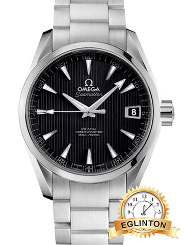 OMEGA Seamaster Aqua Terra Black Dial Automatic Stainless Steel Men's Watch