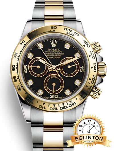 Brand New Rolex Cosmograph Daytona Diamond Dial Watch 116503 - 2017