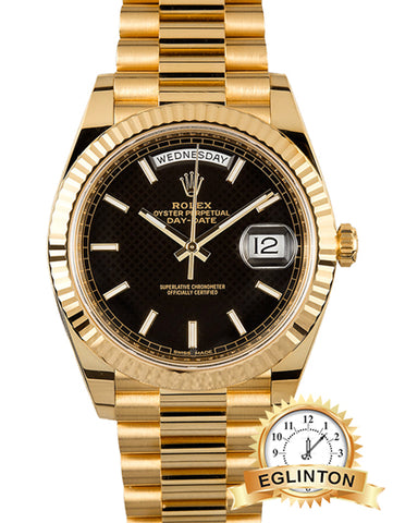 Rolex Day-Date 40mm Yellow Gold 228238