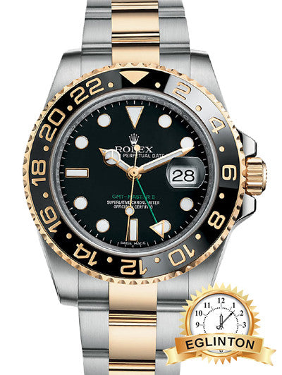 Rolex GMT-Master II 116713 Two Tone  W/ Box & Papers 2016