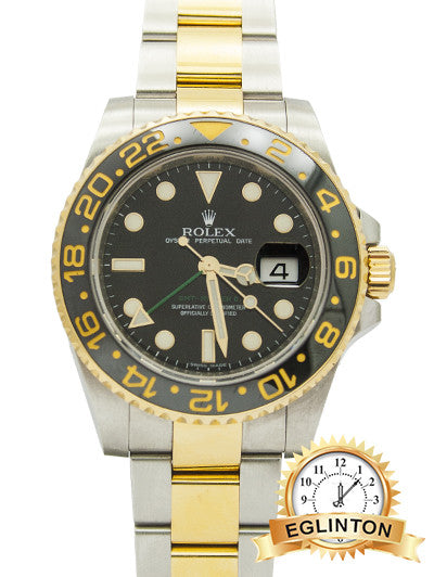 "Rolex GMT Master II Ceramic Bezel Two-tone ""2018"" Discontinued"
