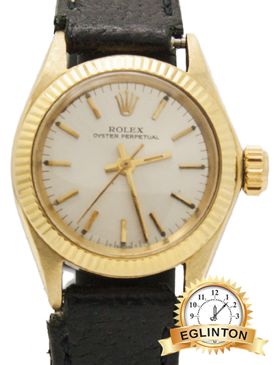 Rolex Datejust Lady 26mm 18k Yellow Gold