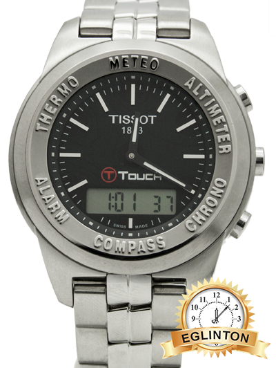 Tissot T083.420.11.057.00 T Touch Classic Stainless Steel Men's Watch
