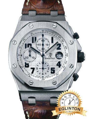 ROYAL OAK OFFSHORE CHRONOGRAPH SAFARI MODEL REF. #26170ST.OO.D091CR.01