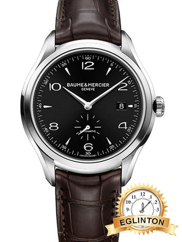 Baume & Mercier M0A10053 Clifton Small Seconds Automatic Mens Watch W/ Box & Papers
