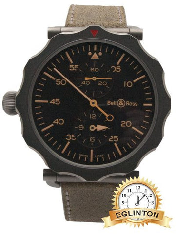 Bell Ross WW2 Regulateur Automatic Mens Watch BRWW2-REG-HER/SCA