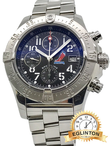Breitling A13380 Avenger Skyland Limited Edition NHL 1/500 45mm Men's Watch B&P
