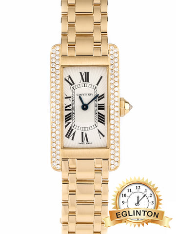Cartier Ladies' Tank Americaine Ref. WB7012K2