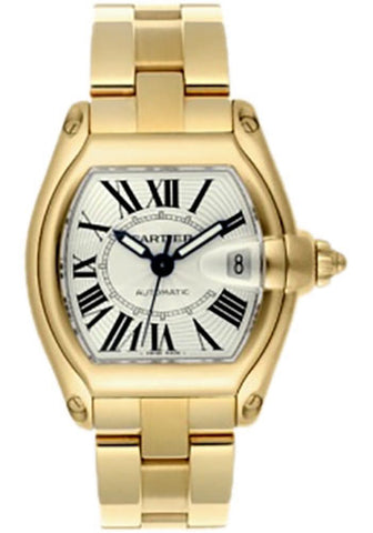 CARTIER ROADSTER AUTOMATIC 18 KT YELLOW GOLD