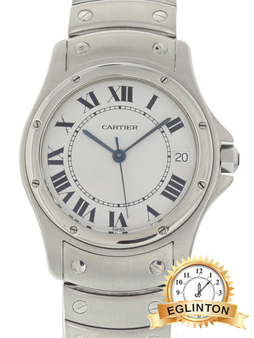 CARTIER Santos Ronde Stainless Steel 1920.1 Automatic