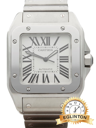 Cartier SANTOS 100 XL STAINLESS STEEL GENTS 2656