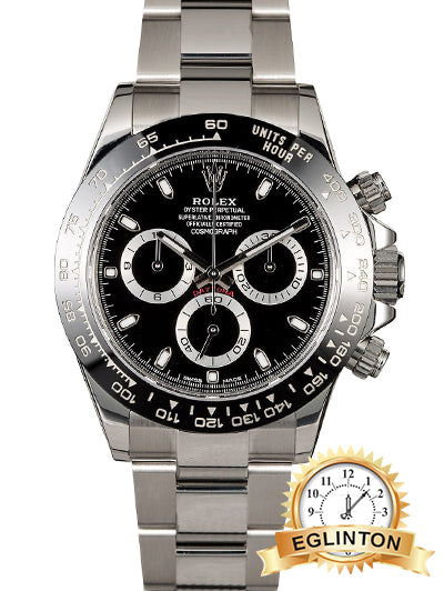 Rolex Daytona Ceramic bezel black dial 116500LN BK 2018 New ON HOLD