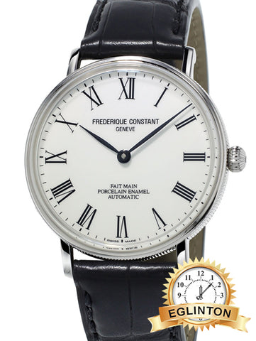 New FREDERIQUE CONSTANT Art of Porcelain Automatic Men's Watch