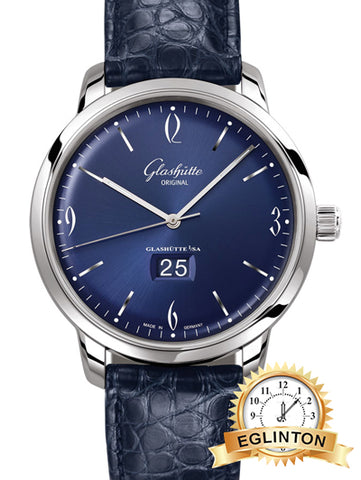 Glashutte Original Senator Sixties Panorama Date Mens Watch