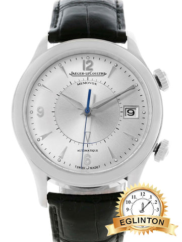 Jaeger Lecoultre Master Memovox 174.8.96 Q1418430 Stainless Steel Automatic 40mm Mens Watch