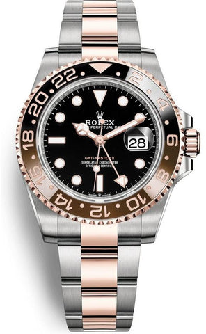 Rolex  GMT-Master II Steel and Everose Gold 126711 CHNR brand New