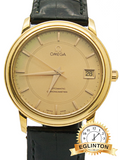 Omega 18K Yellow Gold Automatic chronometer with date